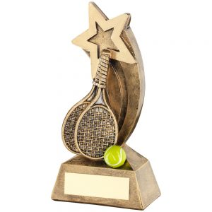 tennis star trophy