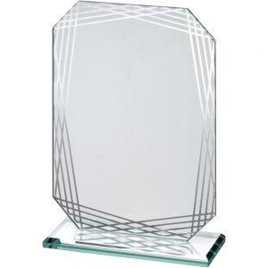 blank acrylic trophy